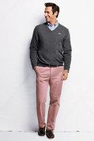 Classic Men's Comfort Waist Casual Chino Pants - Custom Hemming-Antique Blossom
