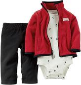 Carter's Jacket, Bodysuit and Pants - Baby Boys newborn-24m