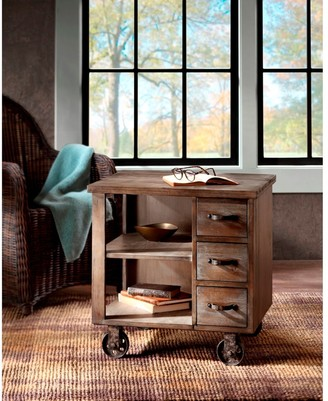 Madison Home USA Kagen Grey End Table