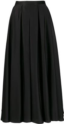 Blanca Vita pleated A-line skirt