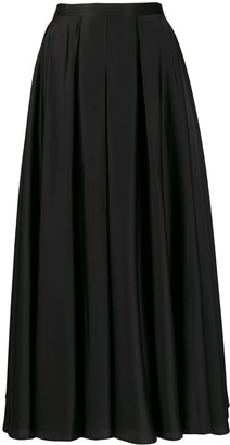 Blanca Vita pleated A-line skirt