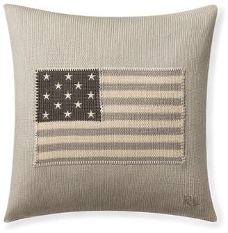Ralph Lauren RL Flag Throw Pillow