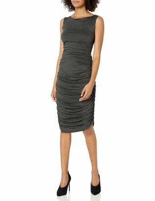 Norma Kamali Women's Sleeveless Shirred Dress
