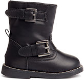 H&M Biker Boots - Black - Kids