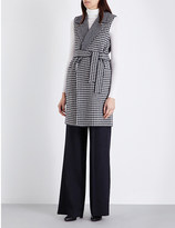 Max Mara Elettra wool and cashmere-blend gilet