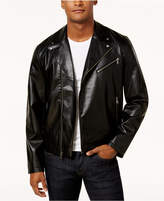 INC International Concepts Men's Fogg Faux Leather Jacket, Created for Macy's