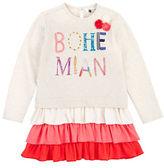 Petit Lem Girls 2-6x Bohemian Princess Long Sleeve Dress