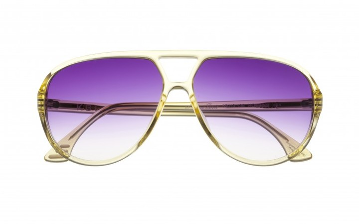 KBL Sunglasses West Side Bernie In Transparent Honey