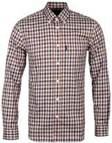 Aquascutum Emsworth Beige Checked Shirt
