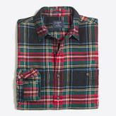 J.Crew Factory Slim plaid flannel shirt