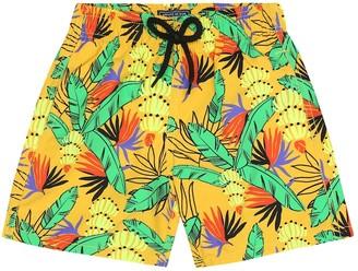 Vilebrequin Kids Jim printed swim trunks