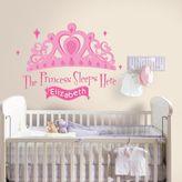 Bed Bath & Beyond Roomates Princess Sleeps Here Peel & Stick Decal