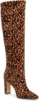 Steven New York Joanis Animal Print Tall Boot