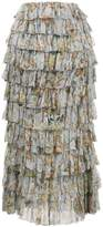 Zimmermann Painted Heart Ra Ra Skirt