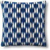 Dransfield and Ross Essence Cut 24x24 Pillow - Blue/Beige