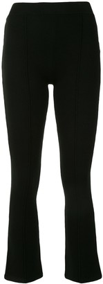 Jonathan Simkhai Straight Leg Cropped Trousers