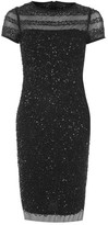 Adrianna Papell Embellished Dress Womens