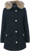 Woolrich hooded parka - women - Cotton/Polyamide - XS