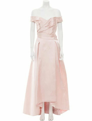 J. Mendel Silk Evening Gown Pink