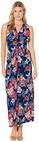 Tommy Bahama Mira Dora Maxi Dress (Dark Cobalt) Women's Dress