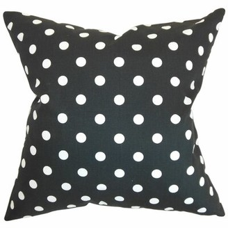 The Pillow Collection Nancy Polka Dots 100% Cotton Throw Pillow Cover & Insert The Pillow Collection