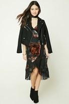 Forever 21 Wrap-Front Floral Print Dress