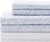 Melange Home 400 Thread Count Cotton Hydrangea Sheet Set - Light Blue