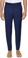 Lanvin Wool Flat Front Dress Pants