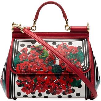 Dolce & Gabbana medium Sicily floral tote