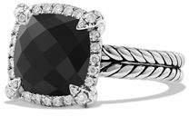 David Yurman 9mm Châtelaine Ring with Diamonds