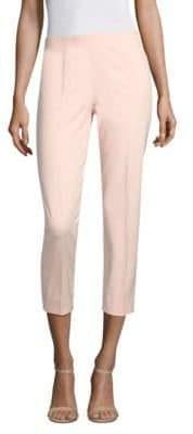 Piazza Sempione Cropped Cotton-Blend Pants