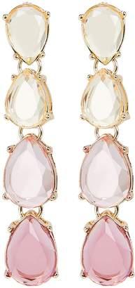 Jardin Ombre Pink Drop Earrings