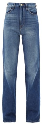 Frame Le Jane Dorsey Straight-leg Jeans - Denim
