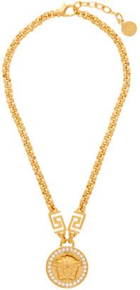 Versace Gold Icon Medusa Necklace