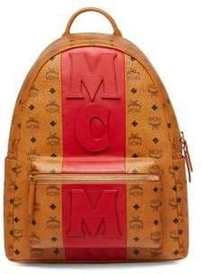 MCM Stark Textured Backpack