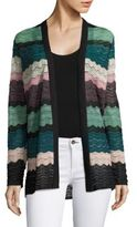 M Missoni Wavy Knit Cardigan