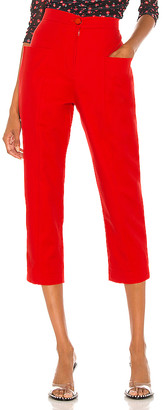 IORANE High Waist Pockets Trousers