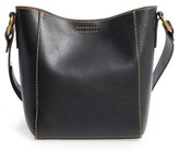 Frye Leather Bucket Bag - Black