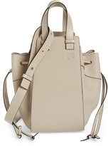 Loewe Hammock Medium Pebbled Leather Hobo