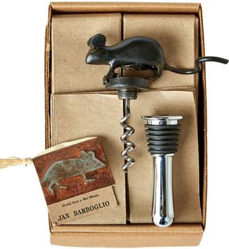 Jan Barboglio Mouse Corkscrew/Stopper
