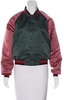 Tomas Maier Colorblock Bomber Jacket