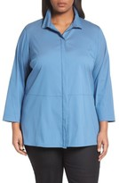 Lafayette 148 New York Plus Size Women's Zander Blouse