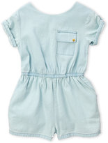 kardashian kids (Infant Girls) Chambray Romper