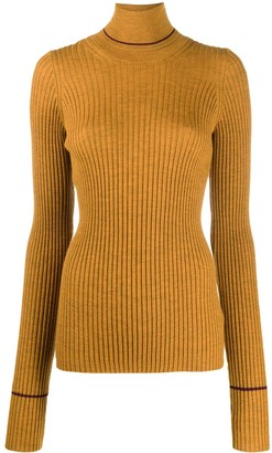 Maison Margiela Ribbed Turtleneck Jumper