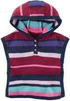 Carter's Baby Girl Hooded Striped Poncho