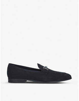 Tod's Tods Double T suede loafers