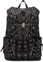 Marcelo Burlon County of Milan Blakc Salomon Backpack