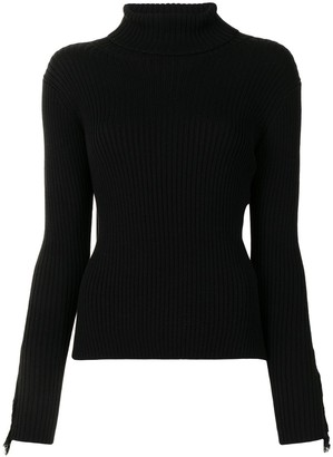 Y's Roll Neck Knitted Jumper
