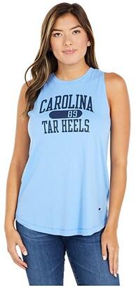 Champion College North Carolina Tar Heels University 2.0 Tank Top (Light Blue) Women's Clothing
