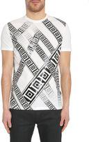 Versace Round Collar T-shirt